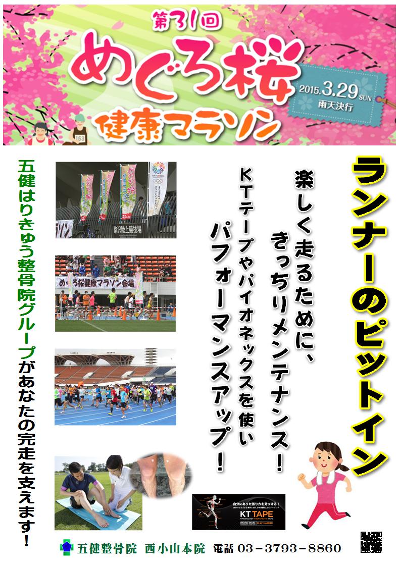 めぐろ桜健康マラソン