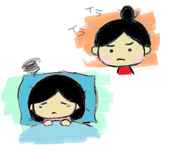 不眠・イライラ
