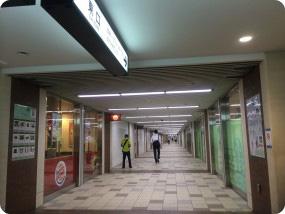 代々木上原駅東口方面
